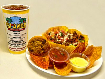 Taco Salad Bar With Steak